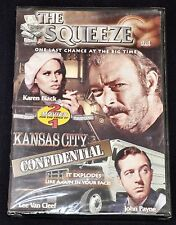THE SQUEEZE / KANSAS CITY CONFIDENTIAL (DVD, 2006) 2 Movies NEW!