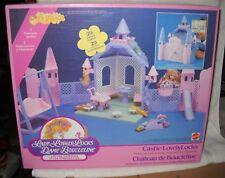 #9710 NRFB Vintage Mattel Lady Lovely Locks Castle LovelyLocks FRENCH BOX