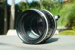 SUPER RARE VARIANT Zeiss Jena Sonnar 180mm F/2.8 Exakta Mount Lens