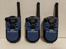 MOTOROLA Talkabout 250 2 Way Radios SET OF 3 Walkie Talkies