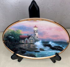 "Plate Collection "" Hope's Cottage "" by Thomas Kinkade"