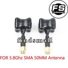 2 X 5.8Ghz TBS Stubby SMA 50MM Mushroom Antenna for RC FPV Drone Quadcopter USA