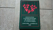 annuaire 1991 association luxembourg  généalogie héraldique franc maçonnerie