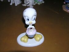 "Lenox ""A Present From Tweety� Cupcake Collectible Tm & Warner Bros. Figurine"