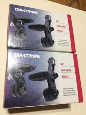 New DiaCompe 987 T Cantilever Brake Set Front & Rear BMX MTB