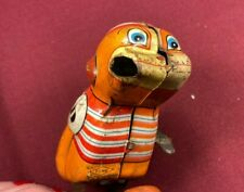Vintage Monkey Toy Wind up by Yone Toy Co Collectible Toy Monkey