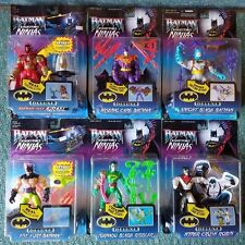 HASBRO DELUXE BATMAN KNIGHT FORCE NINJAS  ROBIN RIDDLER AZRAEL 6 FIGURES RD50