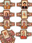 "Vitolas. Havana Karakter ""Papas"", 12 vitolinas. Cigar Bands. Bauchbinden,"
