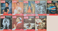 Lot of 17 1954 LIFE - Basutoland Rain Forests Dandridge Lollobrigida Holliday