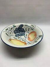 New ListingTabletops Unlimited fruit vegetable serving bowl Frutteto hand painted