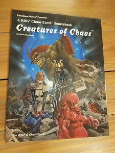 Rifts Chaos Earth Creatures of Chaos Siembieda Softcover Palladium