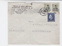 Greece 1938  to germany airmail stamps cover   r19742