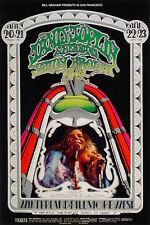 MINT Janis Joplin 1969 BG 165 ONLY SOLO Fillmore Card