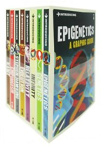 A Graphic Guide Introducing Series 6 Collection 8 Books Set Infinity, Evolution.