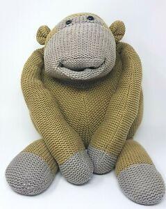 "LARGE ITV DIGITAL Monkey toy ""Sidekick"" collectors item Plush soft teddy Pg Tips"