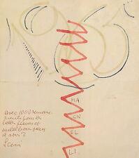 Alberto Magnelli Abstraction Florence Futurisme  Château-musée de Vallauris p314