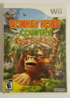 Donkey Kong Country Returns (Nintendo Wii, 2010) - With Case and Manual