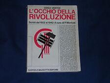 Vertov L'occhio della rivoluzione Scritti dal 1922 al 1942 Mazzotta Editore