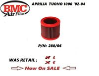 APRILIA TUONO 1000 02 03 04 05 06  AIR FILTER BMC performance