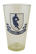 Rugby Pro Beer Glass - holds 440ml - a great gift for rugby fans