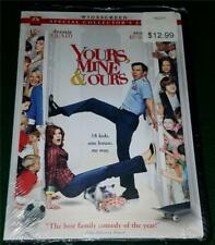 DENNIS QUAID, RENE RUSSO, Yours, Mine & Ours, DVD, NEW