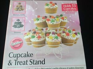 Wilton Cupcake Display Stand Holds 13 Cupcakes, Party Favor or Votive
