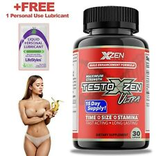 #1 Best Men's Testosterone Booster Male Enhancement Sexual 30 pills Test Boost