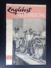 Revue Fascicule Englebert Velo magazine N° 13 1951