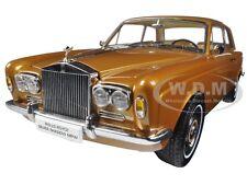 1968 ROLLS ROYCE SILVER SHADOW BRONZE 1/18 DIECAST MODEL CAR BY PARAGON 98205