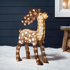 Luz Reno Exterior Navidad Decoración de Jardín Enchufe en IP44 por luces 4fun