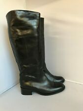 New Van Dal Boots UK 5 Women Black Leather Knee High Pull On Casual Wear 281764