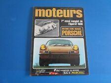 Revue MOTEURS  janvier 1969 n°71  Coupé CG 1200 S ; Opel GT , Porsche 1948-1968