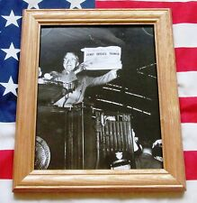 Framed Historic Photograph, President Harry S Truman, Dewey defeats Truman 1948