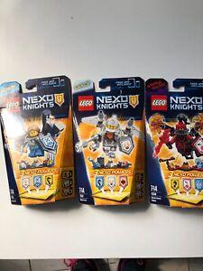 LEGO NEXO KNIGHTS N° 70338/70333/70337 Neuf