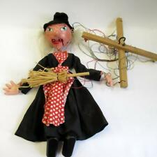 Vintage Witch Pelham Puppets - Marlborough Wilts - with Original Box - 30 cm