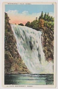 Canada postcard - Montmorency Falls, Quebec (A300)