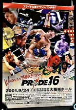 Japan PRIDE 16 Official Poster B3 size