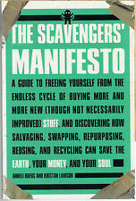 The Scavengers' Manifesto~Anneli Rufus Softcover~Eco-Recycling(English)BRAND NEW
