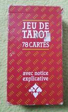 jeu de tarot 78 cards avec notice explicative