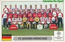 210 TEAM SQUADRA BAYERN MUNCHEN STICKER PANINI CHAMPIONS LEAGUE 2000-2001
