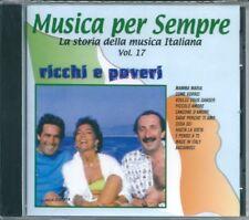 Ricchi e Poveri I Successi (2001) CD NUOVO Voulez vous dancer Sarà perché ti amo