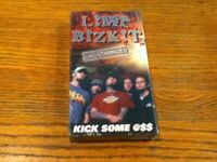 Limp Bizkit Kick Some @$$ Unauthorized Biography VHS Video Tape Brand New/Sealed