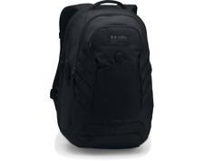 Under Armour 1294719 UA Hudson Storm Backpack School Laptop Book Bag, Black