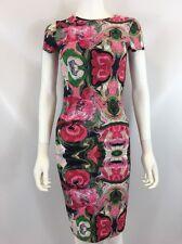 The Bags Los Angeles Women's Pink Multi Color Dress Sz M I617