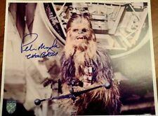 Star Wars Peter Mayhew (Chewbacca) Autograph - 11x14 signed OPX Rare Photo w/COA