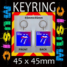 ROLLING STONE BLUE & LONESOME – ALBUM COVER- KEYRING –KEY CHAIN – KEY RING #1