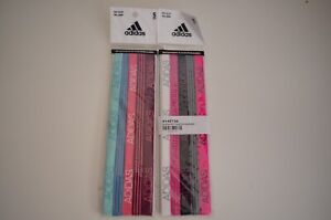Adidas Womens Sports Head Bands 10 Pack Gym Tennis Yoga Fitness Dance Hair Bands