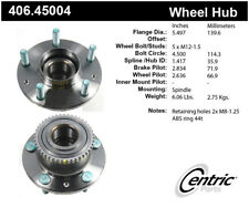 Wheel Bearing and Hub Assembly-4-Wheel ABS Rear,Front Centric 406.45004