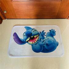 lilo&stitch happy fuzzy mat rug indoor pad floor mats anime unisex hot