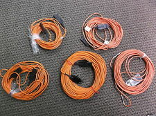 NEW FIBRE OPTIC CABLE with IBM Connectors P/N 7333186 Lot of 5 cables